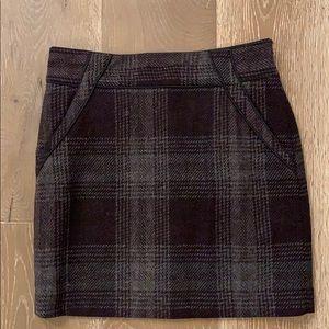 Ann Taylor Loft side-zip miniskirt